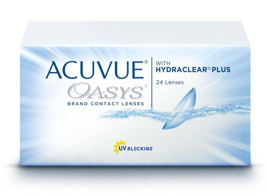 контактные линзы Acuvue Oasys with Hydraclear Plus (24 шт.)