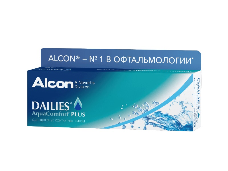 контактные линзы Dailies Aquacomfort Plus (30 шт.)