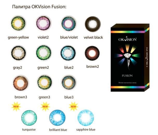 Картинки по запросу контактные линзы OKVision FUSION фото