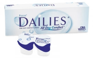 контактные линзы Focus Dailies All Day Comfort (30 шт.)